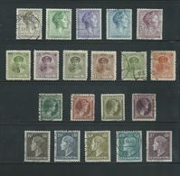 RB - 20 X Luxemburg - Luxembourg - Pracht Lot - Afgestempeld - Nr. 287 - Timbres