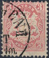 BAVARIA 1870-72 3kr USED  Lot#123 - Bavaria