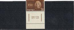 1956  A. EINSTEIN    NEUF  TAB    COTE   1,20  EURO - Neufs (avec Tabs)