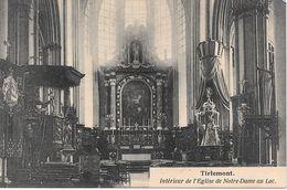 Tienen, Tirlemont, Intérieur De L'Eglise De Notre-Dame Au Lac, - Tienen