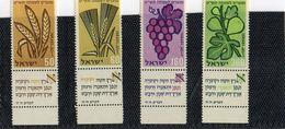 1958  NOUVEL AN   N° 141 / 4    NEUF  TAB    COTE   2,00   EURO - Neufs (avec Tabs)