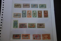 OUBANGUI  LOT DE1931  18 Timbres* Mh - Ubangui (1915-1936)