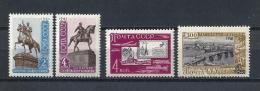 URSS592) 1961 -Monumenti- Lettera -Irkutsk - 3 Serie Cpl. 4val.MNH** - 1923-1991 URSS