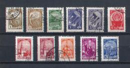 URSS599) 1961 - SERIE ORDINARIA - Serie Cpl. 11 Val. USED Include Calcografici - 1923-1991 USSR