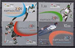 Olympics 2002 - Ice Hockey - KYRGYZSTAN - Set MNH - Winter 2002: Salt Lake City