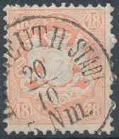 Bayern 1867-75 18kr Used - Bavaria