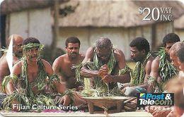 Fiji - Traditional Yaqona Ceremony - 07FJE - 20$, 1994, 19.400ex, Used - Fiji