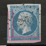 Variétés FILETS. VOISIN. A PLANCHER. PC 2878 SENS Yonne. - 1853-1860 Napoleon III