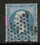 TB CENTRAGE . Variété Filet OUEST. - 1862 Napoleon III