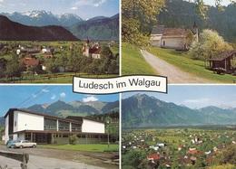 LUDESCH Im Walgau (Vorarlberg) - Mehrbilderkarte Per FP Gel., 4 Fach Frankatur - Sonstige