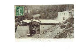 Cpm REPRODUCTION - 21 - Côte D'Or - CRUGEY - Usine De Crugey En Construction - Cl H.B. - Other Municipalities