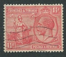Trinité - Yvert N° 112  Oblitéré   -  Pa12114 - Trinité & Tobago (...-1961)