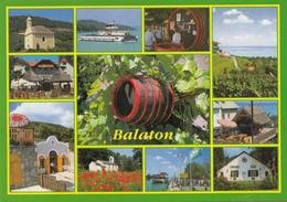 BALATON (Ungarn) - Sondermarke Auf Ak - Ungarn