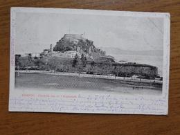 Griekenland - Greece / Corfou, Citadelle Vue De L'Esplanade --> Written 1905 - Grèce