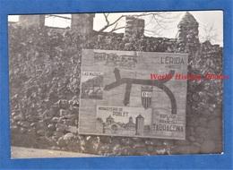 Photo Ancienne - ESPAGNE Ou FRANCE - Catalogne - Pancarte Touristique - Prades Lerida Las Masias Poblet Tarragona - Luoghi