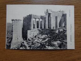 Griekenland - Greece / Athènes, Les Propylées --> Unwritten - Grèce