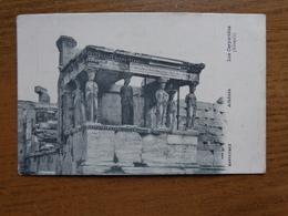 Griekenland - Greece / Athènes, Les Caryatides --> Unwritten - Grèce