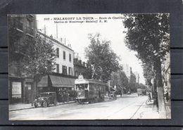 Malakoff La Tour - Route De Chatillon - Station De Montrouge-malakoff - (tramway) - Malakoff