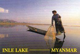 1 AK Myanmar (Burma) * Einbein-Ruderer Auf Dem Inle Lake * - Myanmar (Burma)