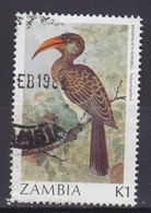 Zambia 1987 Mi. 394      1 K Bird Vogel Oiseau Felsentoko - Zambia (1965-...)