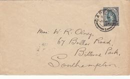 NATAL 1911? - 1½d Auf Brief Gel.v. Captown > Southhampton - Briefmarken