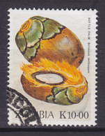 Zambia 1989 Mi. 502      10.00 K Früchte Fruits Barassus Aetiopum - Zambia (1965-...)