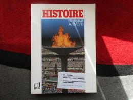 "Histoire ""Terminales A, B, C, D"" / éditions Belin De 1989 - Books, Magazines, Comics"