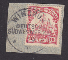 German South West Africa, Scott #15?, Used, Kaiser's Yacht, Issued 1900 - Colony: German South West Africa