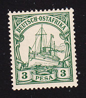 German East Africa, Scott #12, Mint Never Hinged, Kaiser's Yacht, Issued 1900 - Colony: German East Africa