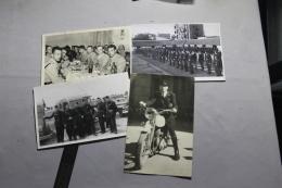 Lot De 4 Photos De La Police Dont Tunisie 1948-51 - Police