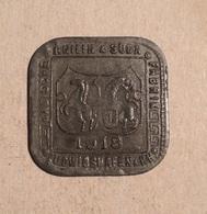 TOKEN JETON GETTONE ERSATZGELD 10 PFENNIG GERMANIA - Notgeld