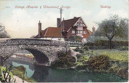 Vintage.Postcard; Cottage Hospital.Wheatsheaf Bridge. Woking. Surrey - Surrey