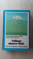 Zündholzschachtel Mit Einem Vulkan (Fudschijama) Von ZÜNDIS Aus Deutschland - Zündholzschachteln