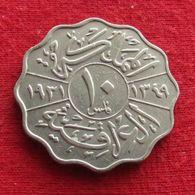 Iraq 10 Fils 1931 Irak Iraquí Irakien - Iraq