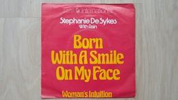 Stephanie De Sykes (with Rain) - Born With A Smile On My Face - Vinyl-Single - Disco, Pop