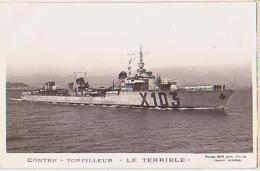 Contre Torpilleur   116          Contre Torpilleur Le Terrible - Krieg