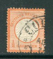 ALLEMAGNE EMPIRE- Y&T N°3a)- Oblitéré - Deutschland