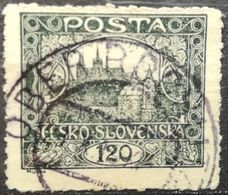 Czechoslovakia 1919 Hradcany At Prague Perforated - Czechoslovakia