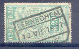 A412 -België Spoorweg Chemin De Fer Stempel EERNEGHEM - 1923-1941