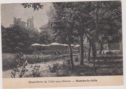 78   Mantes  La Jolie  Hostellerie De L'ile  Aux Dames - Mantes La Jolie