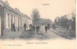 CPA -  Belgique, CAPPELLEN  /  KAPELLEN,  Heidestraat, Rue De La Bruyere - Kapellen