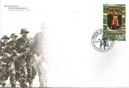 "HR 2017-1294 ""PUMA"", HRVATSKA CROATIA, FDC - Kroatien"