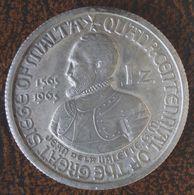 (J) ORDER Of ST. JOHN Of JERUSALEM: Silver Plated Zecchino 1965 Proof (3588)  SCARCE GREAT !!!!!! - Malta (La Orden De)