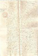 Brief Lettre Akte Van Doren Van Looveren Anvers Antwerpen Notaire Notaris Brecht Manuscrit Manuscript - Manuscripts