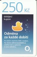 CZECH REPUBLIC - O2 Prepaid Card 250 Kc, Exp.date 31/12/18, Used - Czech Republic