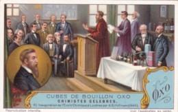 Liebig S1223 Famous Chemists No 6 Inauguration De L'Ecole Chimique A Londres Par A G Hofmann 1846 - Liebig
