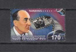 Armenia Armenien 2017 Mi.1016 Cinema. Film Director Hamo Beknazarian - Armenien