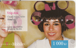 CZECH REPUBLIC - Girls, T Telecom Prepaid Card 1000 Kc, Exp.date 14/12/12, Used - Czech Republic
