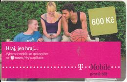 CZECH REPUBLIC - People, T Telecom Prepaid Card 600 Kc, Exp.date 24/02/14, Used - Czech Republic