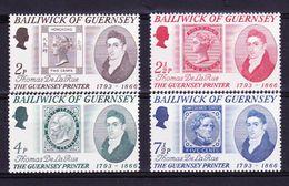 Guernsey Kleine Verzameling 1971, Nr 49/52 **, Zeer Mooi Lot K803 - Sammlungen (ohne Album)